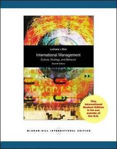 International Management 7 ED by Jonathan P Doh 0071282408