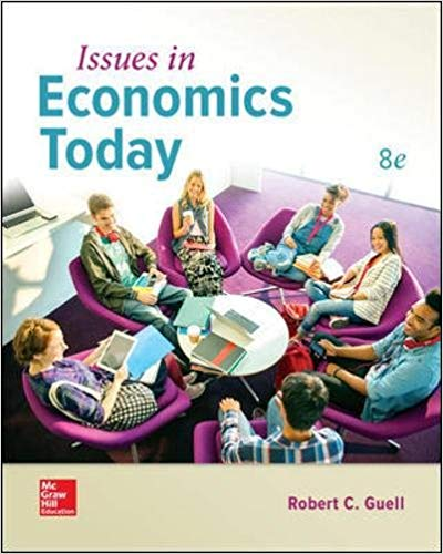 Issues in Economics Today 8 ED by Robert C Guell 1260083861