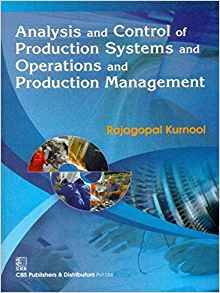 Analysis and Control of Production Systems and Operations and Production Management 1 ED 8123924690